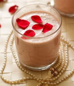 Gulkand Thick shake - Cafe Choco Craze