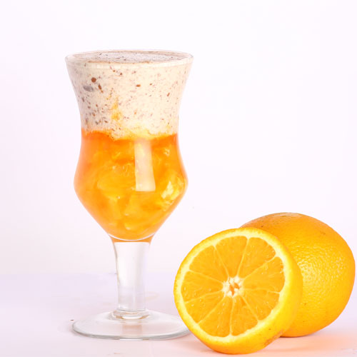 Orange Smoothie - Cafe Choco Craze