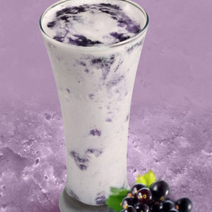 Black Currant Thick Shake - Cafe Choco Craze