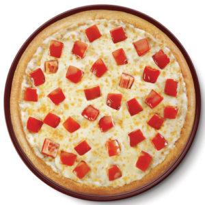 Cheese- Tomato Pizza - Classic Pizza -Cafe Choco Craze