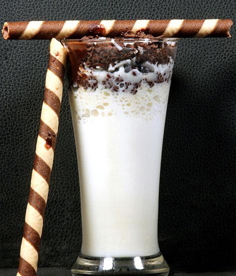Thandai - Thick Shake - Dessert - Cafe Choco Craze