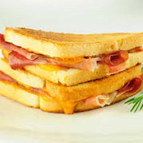Veg.Garlic Sandwich - Snacks - Cafe Choco Craze