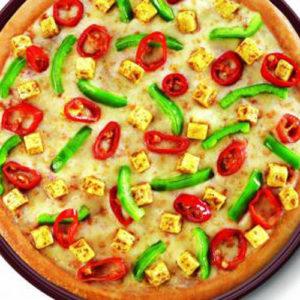 Supreme Pizza(Mushroom + Capsicum) - Cafe Choco Craze