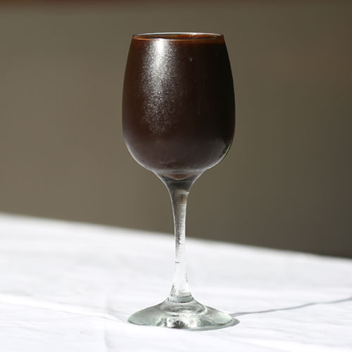 Dark-chocolate Frosips - Cafe Choco Craze