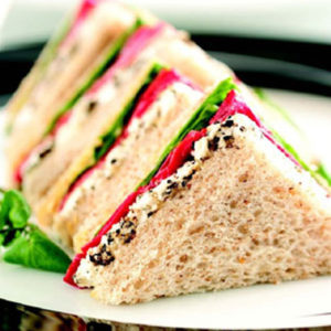 Vegetable Sandwich - Snacks- Cafe Choco Craze
