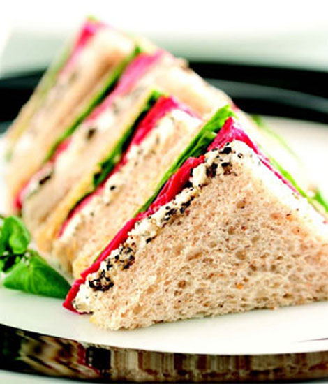 Vegetable Sandwich - Snacks- Cafe Choco Craze