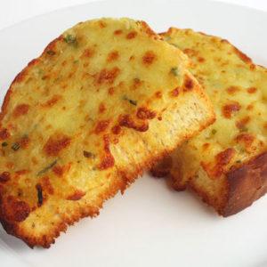 Cheese-Garlic-Bread - Cafe Choco Craze