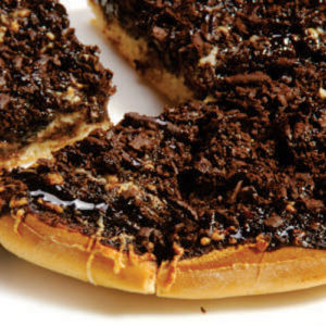 Chocolate Pizza- Choco Craze Speciality - Dessert- Cafe Choco Craze