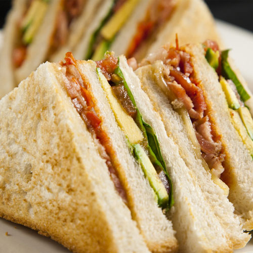 Club Sandwich - Snacks - Cafe Choco Craze