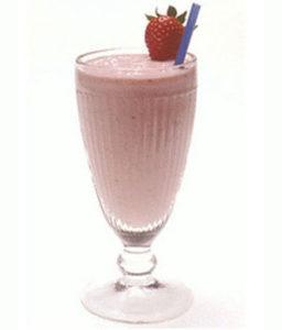 Litchee Thick Shake - Cafe Choco Craze