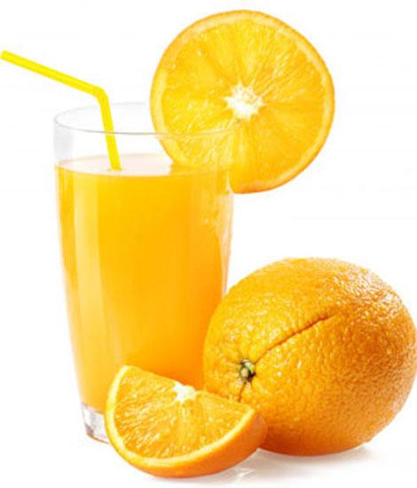 Orange Thick Shake - Cafe Choco Craze