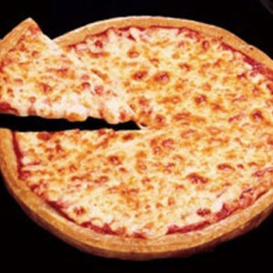 Plain Cheese Pizza - Classic Pizza- Cafe Choco Craze