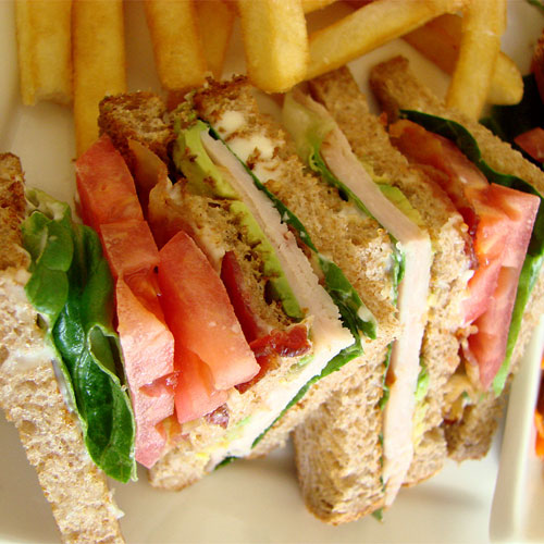 Club-Tango Sandwiches - Snacks - Cafe Choco Craze