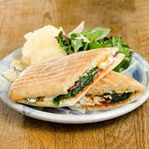 Veg Cheese Garlic Sandwich - Grill - Snacks - Cafe Choco Craze